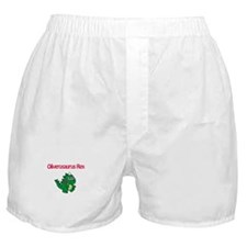 Oliverosaurus Rex Boxer Shorts