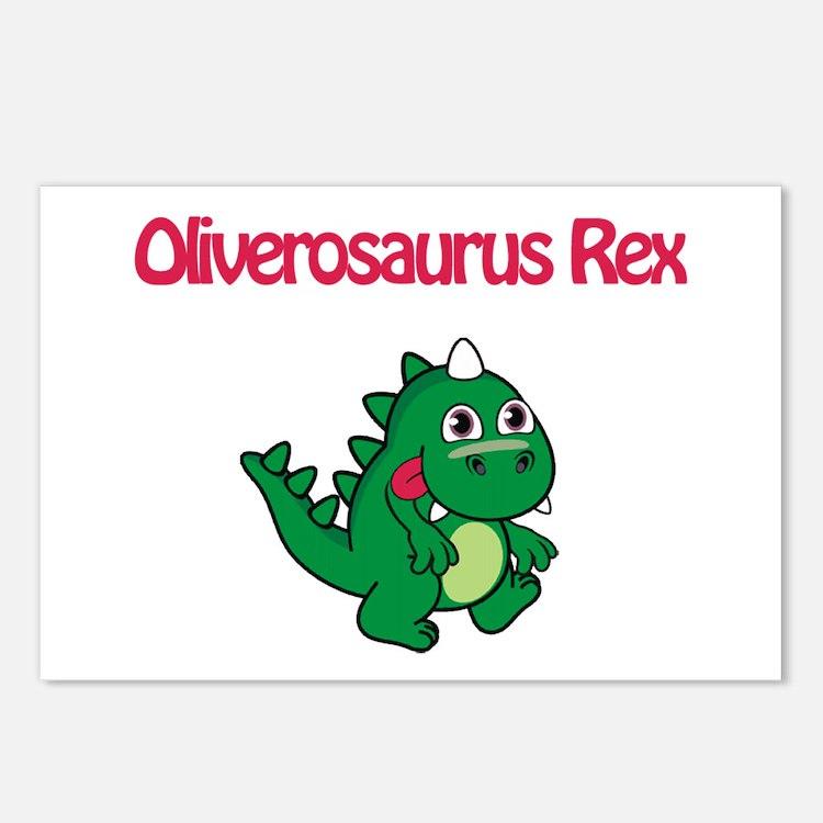 Oliverosaurus Rex Postcards (Package of 8)
