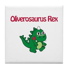 Oliverosaurus Rex Tile Coaster
