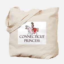 Connecticut Princess Tote Bag