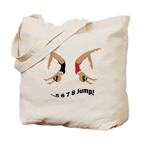 Synchronized swimming Tote Bag