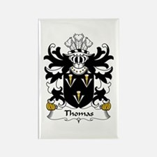 Thomas (of Monmouthshire) Rectangle Magnet