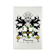 Thomas (of Caernarfonshire) Rectangle Magnet