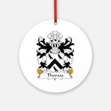 Thomas (AP GRUFFUDD AP NICOLAS) Ornament (Round)
