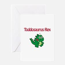 Toddosaurus Rex Greeting Card
