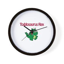 Toddosaurus Rex Wall Clock