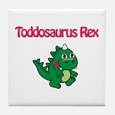 Toddosaurus Rex Tile Coaster
