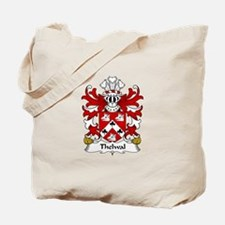 Thelwal (of Plas-y-ward, Denbighshire) Tote Bag