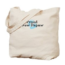 Proud New Papaw B Tote Bag