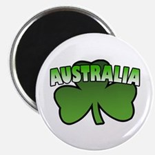 """Australia Shamrock 2.25"""" Magnet (10 pack)"""