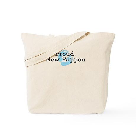 Proud New Pappou B Tote Bag
