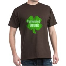 Designated Drunk Saint Patricks Day T-Shirt