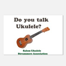 Do you talk Ukulele? Postcards (Package of 8)