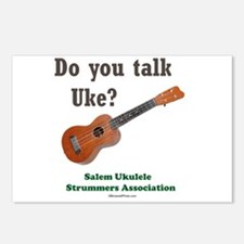 Do you talk Uke? Postcards (Package of 8)