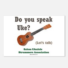 Do you speak Uke? Postcards (Package of 8)