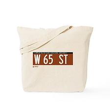 65th Street in NY Tote Bag