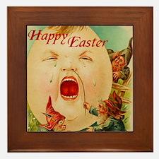 Easter Egg-Boy Framed Tile