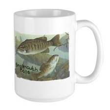 Smallmouth Bass, Fish Mug