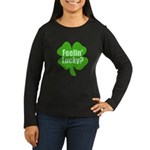 Feelin Lucky? Funny St. Patrick's Day Women's Long