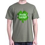 Feelin Lucky? Funny St. Patrick's Day Dark T-Shirt