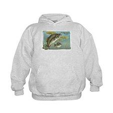 Largemouth Bass, Fish Hoodie