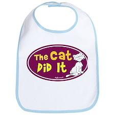 The Cat Did It Bib