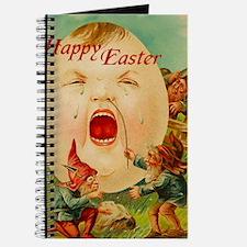 Easter Egg-Boy Blank Notebook Journal