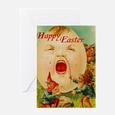 Easter Egg-Boy Greeting Card (single)