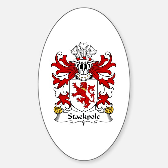 Stackpole (of Pembrokeshire) Oval Decal