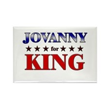 JOVANNY for king Rectangle Magnet