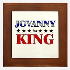 JOVANNY for king Framed Tile