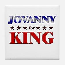 JOVANNY for king Tile Coaster