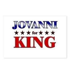 JOVANNI for king Postcards (Package of 8)