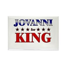 JOVANNI for king Rectangle Magnet