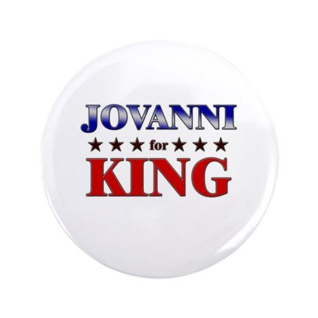 "JOVANNI for king 3.5"" Button"