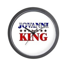 JOVANNI for king Wall Clock