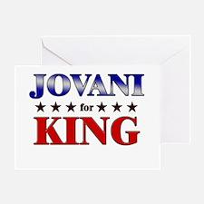 JOVANI for king Greeting Card