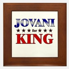 JOVANI for king Framed Tile
