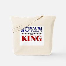 JOVAN for king Tote Bag