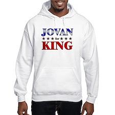 JOVAN for king Hoodie