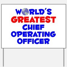 World's Greatest Chief.. (A) Yard Sign