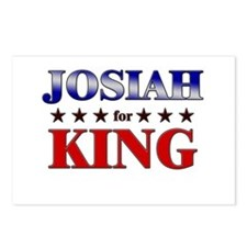 JOSIAH for king Postcards (Package of 8)
