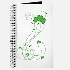 Irish Shamrock Art Journal