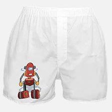 Red Robot Boxer Shorts