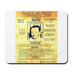 Wanted Doc Barker Mousepad