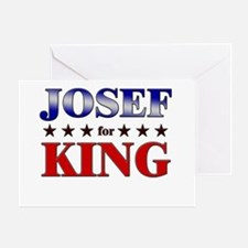 JOSEF for king Greeting Card