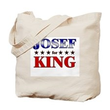 JOSEF for king Tote Bag