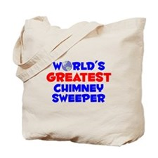World's Greatest Chimn.. (A) Tote Bag