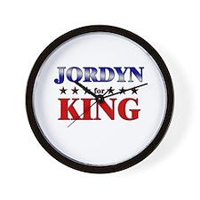JORDYN for king Wall Clock