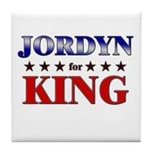 JORDYN for king Tile Coaster